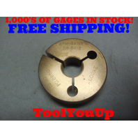 11/16 36 NS 2 THREAD RING GAGE .6875 NO GO ONLY P.D. = .6650 TOOLING INSPECTION