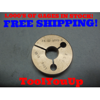 23/32 32 NS 2 THREAD RING GAGE .7187 NO GO ONLY P.D. = .6945 TOOLING INSPECTION