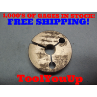 9/16 32  NS 3  THREAD RING GAGE .5625 GO ONLY P.D. = .5422 TOOLING INSPECTION
