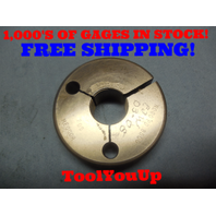 7/8 32 NS 2A THREAD RING GAGE .875 NO GO ONLY P.D. = .8500 TOOLING INSPECTION
