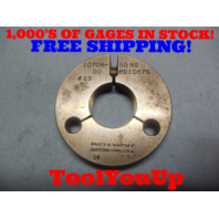1.0708 50 NS THREAD RING GAGE GO ONLY P.D. = 1.0578 TOOLING INSPECTION