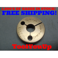 11/16 32 NS 3 THREAD RING GAGE .6875 NO GO ONLY P.D. = .6642 TOOLING INSPECTION