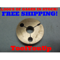5/8 28 UNS 2A THREAD RING GAGE .625 NO GO ONLY P.D. = .5969 TOOLING INSPECTION