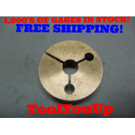 9/16 36 UNS 3A THREAD RING GAGE .5625 GO ONLY P.D. = .5445 TOOLING INSPECTION