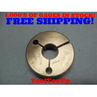 7/8 48 NS 2 THREAD RING GAGE .875 NO GO ONLY P.D. = .8575 TOOLING INSPECTION