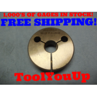 5/8 40 NS 2 THREAD RING GAGE .625 NO GO ONLY P.D. = .6050 TOOLING INSPECTION