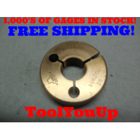 .812 36 NS 2 THREAD RING GAGE .8120 GO ONLY P.D. = .7934 TOOLING INSPECTION