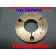 1 5/8 32 NS 3 THREAD RING GAGE 1.6250 NO GO ONLY P.D. = 1.6017 TOOLING TOOL
