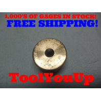 .3010 CLASS X SMOOTH PLAIN BORE RING GAGE .3125 + .0115 UNDERSIZE 5/16 TOOLING