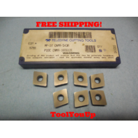 7 PCS NEW TELEDYNE MP 37 CNMA 543A 160612E CARBIDE INSERTS CNC LATHE CNC MILL