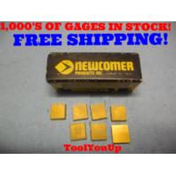 7 PCS NEW NEWCOMER 422 NN60 CARBIDE INSERTS CNC LATHE CNC MILL TOOLING TOOLS