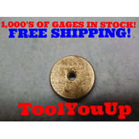 1/4 18 THREAD RING GAGE GO ONLY .25 18.0 P.D.= .2265 TOOLING TOOL MACHINE SHOP