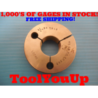 1 1/4 32 NS 3 THREAD RING GAGE 1.25 NO GO ONLY P.D. = 1.2367 TOOLING INSPECTION