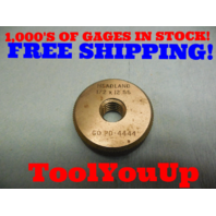 1/2 12 SS THREAD RING GAGE GO ONLY P.D. = .4444 TOOL INSPECTION TOOLS TOOL