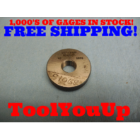 1/2 28 THREAD RING GAGE .5 GO ONLY P.D. = .4792 TOOL INSPECTION MACHINE SHOP