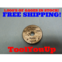 3/8 28 NS 2 THREAD RING GAGE .375 GO ONLY P.D. = .3518 TOOLING MACHINE SHOP
