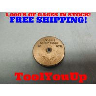 1/4 28 SS THREAD RING GAGE .25 GO ONLY P.D. = .2281 TOOLING MACHINE SHOP TOOL