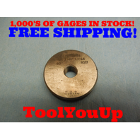 3/8 28 SS CLASS Z THREAD RING GAGE .375 GO ONLY P.D. = .3546 TOOLING INSPECTION