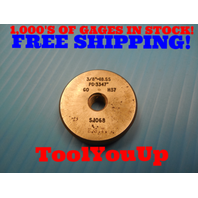 3/8 18 SS THREAD RING GAGE .375 GO ONLY P.D. = .3347 TOOLING INSPECTION TOOLS