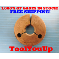 7/8 14 NF 3 THREAD RING GAGE .87500 NO GO ONLY P.D. = .8250 INSPECTION TOOLING