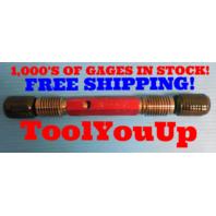 1 1/4 7 UNC 2A  SET THREAD PLUG GAGE 1.25 GO NO GO P.D. 1.1550 & 1.1476 TOOLING