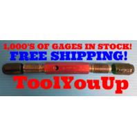 7/8 9 UNC  2A  SET THREAD PLUG GAGE .875 GO NO GO P.D. .8009 & .7946 QUALITY