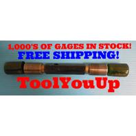 1 1/4 18 UNEF 2A  SET THREAD PLUG GAGE 1.25 GO NO GO P.D. 1.2124 & 1.2075 TOOL
