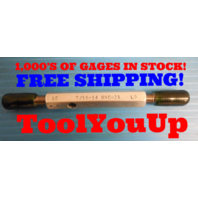 7/16 14 UNC 2A SET THREAD PLUG GAGE .43750 GO NO GO P.D. .3879 & .3850 QUALITY