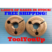 3/4 16 UNF 2A THREAD RING GAGES .7500 GO NO GO P.D. = .7079 & .7029 MACHINIST
