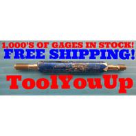 10 32 UNJF 3B THREAD PLUG GAGE #10 .190 GO NO GO P.D.'S = .1697 & .1726 TOOLS