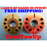 M18 X 1.5 6g BUDGET PRICE THREAD RING GAGES 18.0 1.50 GO NO GO PD= .6702 & .6635