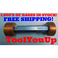 BUDGET PRICED 2 1/2 12 UN 3B LEFT HAND THREAD PLUG GAGE 2.50 PD= 2.4459 & 2.4519