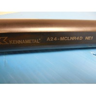 "NEW KENNAMETAL A24-MCLNR4D 1 1/2"" DIA COOLANT THRU BORING BAR HOLDS CNMG 431 432"