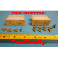 8 PIECES NEW TPG 321 A GRADE C-6 INSERTS CARBIDE MILLING TURNING