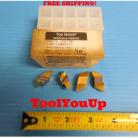 4 PCS NEW NA6R3 KC730 TOP NOTCH CARBIDE INSERTS ACME THREAD ? MILLING TURNING
