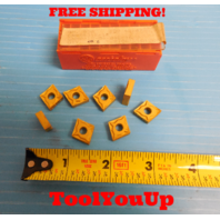 8 PCS NEW CARBOLOY CNMP 431 12 04 04 E 16 TOP CARBIDE INSERTS MILLING TURNING