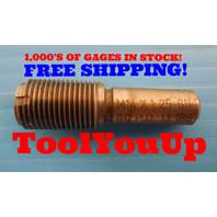M14 X 1.25 6H METRIC THREAD PLUG GAGE 14.0 1.250 GO ONLY 13.188 TAPERLOCK DESIGN