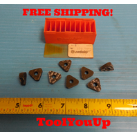 8 PCS NEW TNMA 570 CARBIDE INSERTS SECO CARBOLOY TURNING MILLING BORING