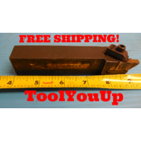 MODIFIED TO .860 KENNAMETAL NSL 164C LATHE TOOL HOLDER HOLDS TOP NOTCH INSERTS