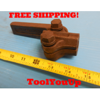 """WILLIAMS NO. 9 BORING BAR TOOL HOLDER 1/2"""" X 1 1/8"""" SOUTHBEND LATHE MACHINIST"""