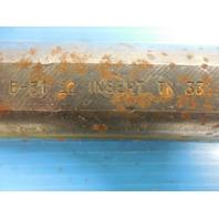"KENNAMETAL B-31 12 1 1/2"" DIAMETER BORING BAR HOLDS TN 33 STYLE INSERT"