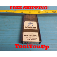 10 PCS NEW LAMINA APLX 1003 PDTR LT 30 INSERTS CNC TOOLING MACHINE SHOP TOOLS