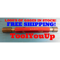1/2 32 UN 2B THREAD PLUG GAGE .5 GO NO GO P.D.'S = .4797 & .4842 INSPECTION TOOL