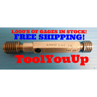 BUDGET PRICE 3/4 10 UNC 3B THREAD PLUG GAGE .75 NO GO PD = .6907 INSPECTION TOOL