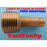 13/16 20 UNEF 2B THREAD PLUG GAGE .8125 NO GO ONLY P.D. = .7857 TAPERLOCK DESIGN