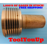 1 1/2 12 UNFS 2B THREAD PLUG GAGE 1.50 NO GO ONLY P.D. = 1.4662 TAPERLOCK DESIGN