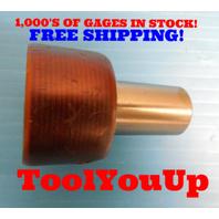 1 7/16 18 NEF 2 THREAD PLUG GAGE 1.4375 P.D. = 1.4014 TAPERLOCK DESIGN TOOLING