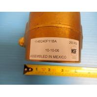 NEW PROCON ROTARY VANE PUMP MODEL 114B240F11BA 250 PSI BRASS BODY  260 GPH