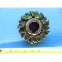 4 X 1 1/4 X 1 1/4 HSS STAGGERED TOOTH SIDE MILL CUTTER HORIZONTAL MILL UNCOATED