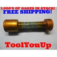 2.107 & 2.108 SMOOTH PIN PLUG GAGE 2.1093 UNDERSIZE MACHINE SHOP TOOL MART